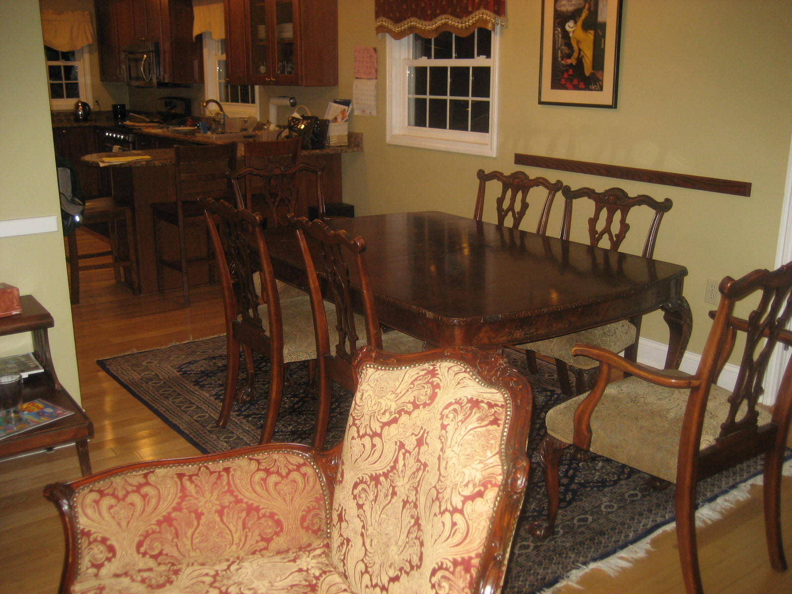 Useless and beloved living spaces first gen american first for Dining room useless