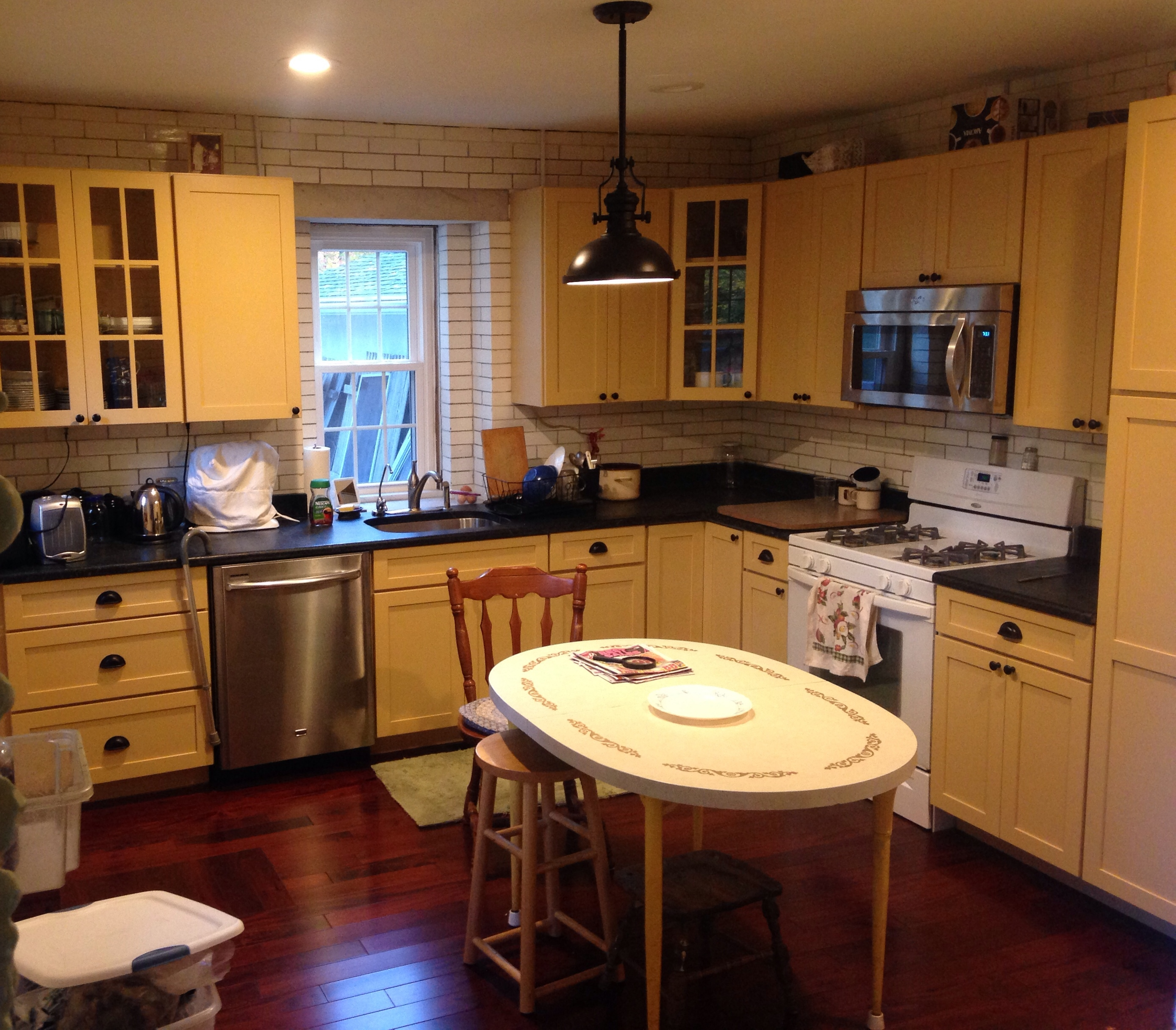 For A New Kitchen Babcis New Kitchen And Kitchen Design Tips First Gen American
