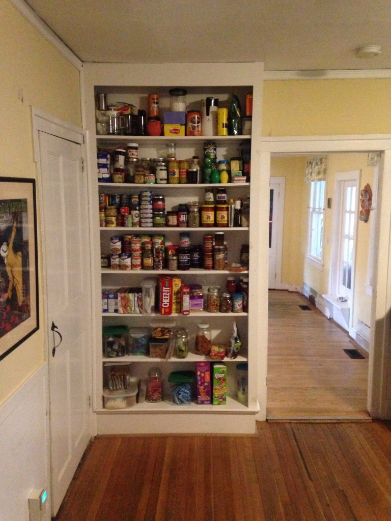 Temporary Pantry